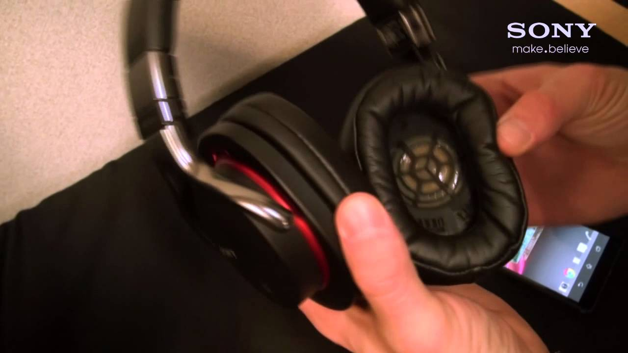 Sony Wireless Nfc Bluetooth Headphones Pairing Walkthrough Youtube