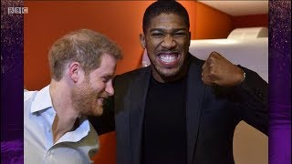 Anthony Joshua is single & looking for Royal connection @ Prince Harry & Meghan Markle