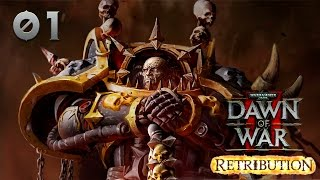 Warhammer 40000: Dawn of War 2 — Retribution - Прохождение (кооп) pt1