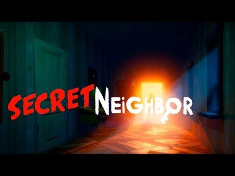 Кто же маньяк Secret Neighbor Alpha прохождение! Привет сосед онлайн