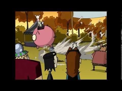 Invader Zim | Escape On The Pig