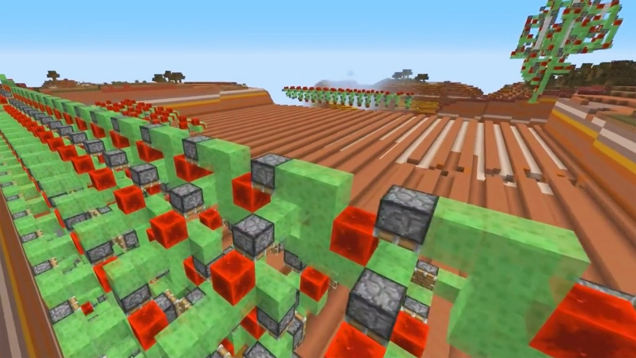 Survival Minecraft Working Quarry with Sci-Craft Server