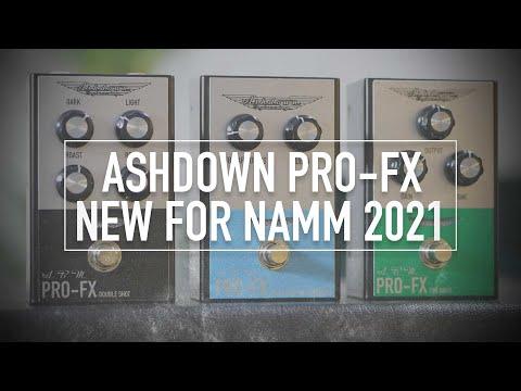 NEW ASHDOWN BASS EFFECTS FOR NAMM 2021