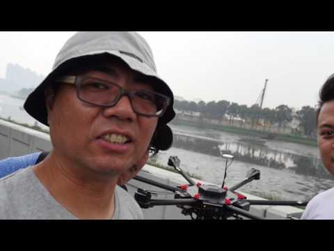 My first video blog about aerial UAV DJI Matrice 600 Nam Sang Wai
