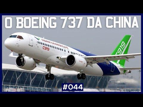 O BOEING 737 DA CHINA?