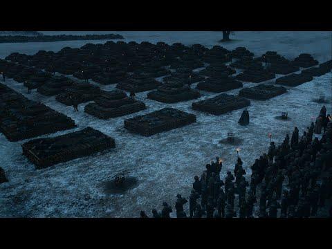 Прощание с погибшими воинами.8сезон 4серия