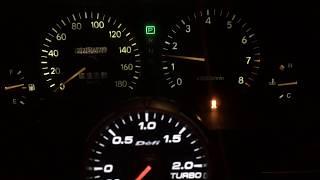 Fujitsubo Legalis Super R JZX90 Tourer V Exhaust Sound