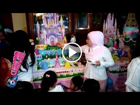 Wow...!! Mewahnya Kue Ultah Anak Muzdalifah - Cumicam 17 April 2016