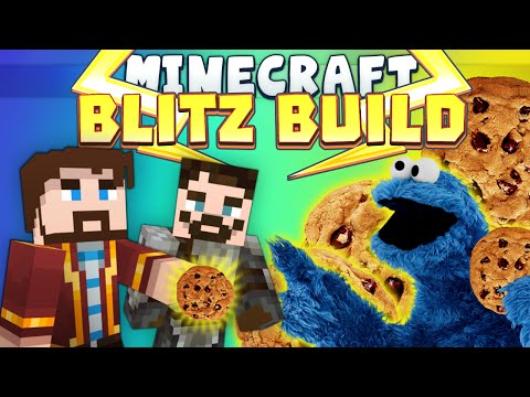 Minecraft Minigames - Blitz Build - Monster Cookie