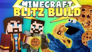 Minecraft Minigames - Blitz Build - Monster Cookie