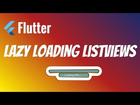 Flutter: Lazy Loading ListViews   Load More Data On Scroll
