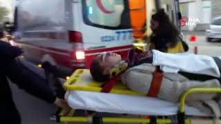 Yağış sonrası kazalarda 7 kişi yaralandı