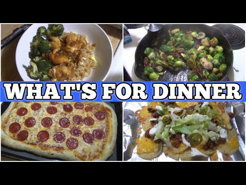 What's For Dinner?   Real Life Easy Meal Ideas