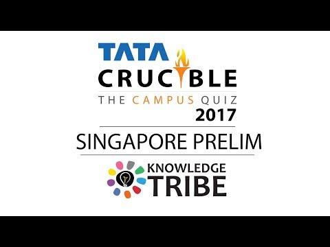 TATA Crucible Campus 2017 Prelims Recap - Singapore