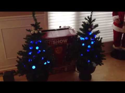 The Incredible Holiday Lightshow 4' trees by Gemmy