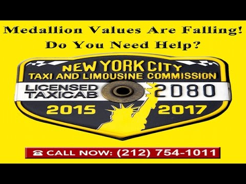 NYC Taxi Medallion's Falling Values | Legal Remedies | Expert Legal Counsel | Save Time & Money