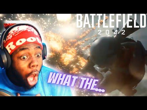 Battlefield 2042 Official Reveal Trailer (ft. 2WEI) REACTION!!!