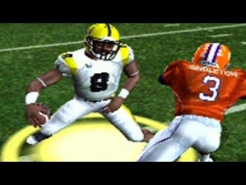 NCAA Football 2006 (ps2)SAU Dynasty game 9 vs Clemson Tigers