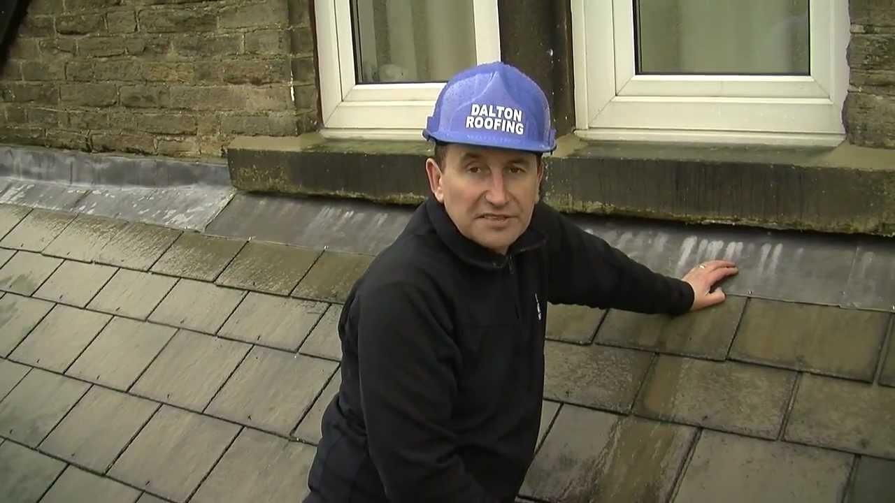 Lead Flashing Roof Repair Dalton Roofing Youtube