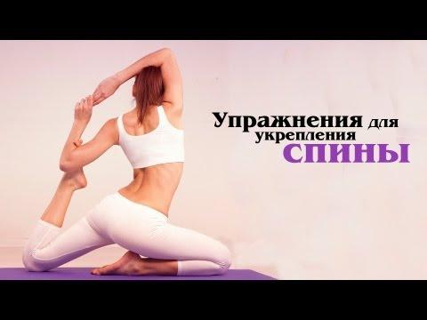 Упражнения с эспандером для мышц спины