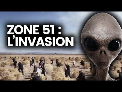 ZONE 51 : L'invasion, l'armée et les secrets