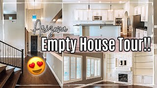 🌵 ARIZONA EMPTY HOUSE TOUR 2021 :: WE MOVED!! NEW HOME TOUR 2021
