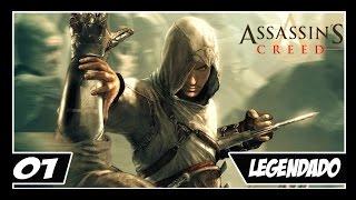 Assassin's Creed - Parte #1 - Altaïr Humilde!! - [LEGENDADO PT-BR 1080p 60fps]