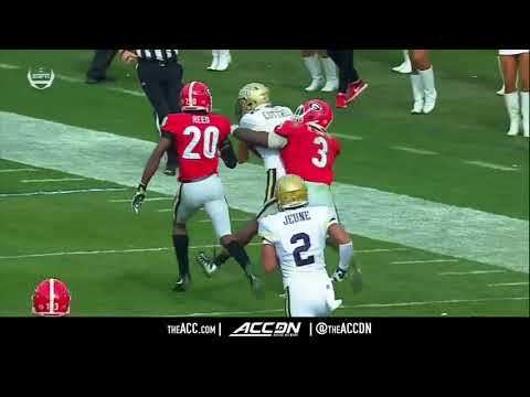 Georgia vs Georgia Tech College Football Condensed Game