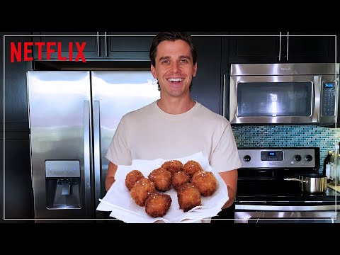 Antoni Makes Fritters | Show Me What You're Working With | Netflix