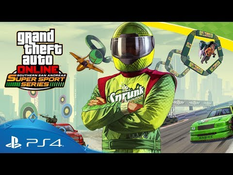 GTA Online   Southern San Andreas Super Sport Series   PS4