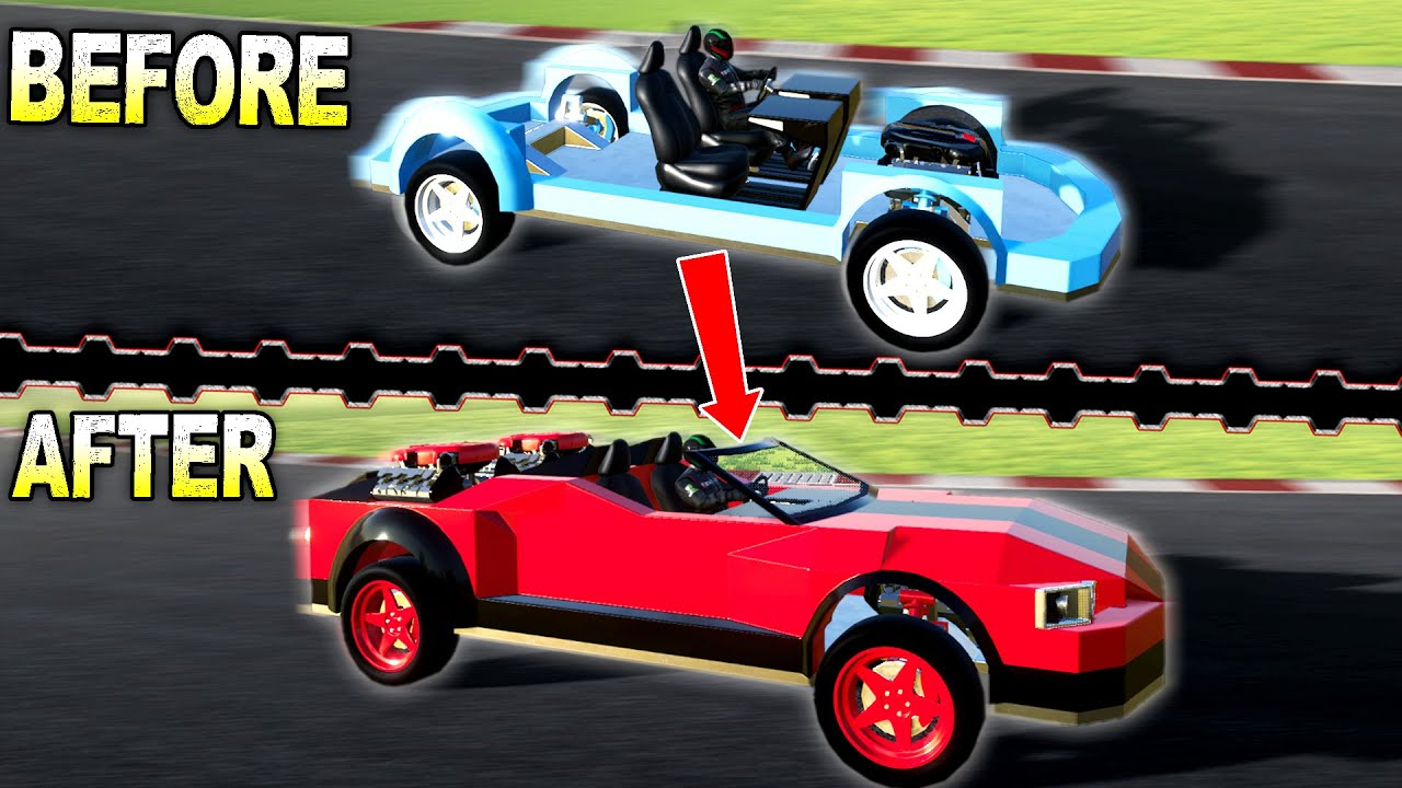 I Turned an Unfinished Chassis Into a 3 Engine Racecar! - Techblox Gameplay