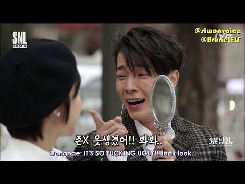 [ENGSUB] 171111 tvN SNL Korea 3-minute boyfriend Donghae (Super Junior)