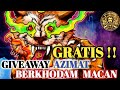 Giveaway Azimat Berkhodam Macan Ke   Mp3 - Mp4 Download