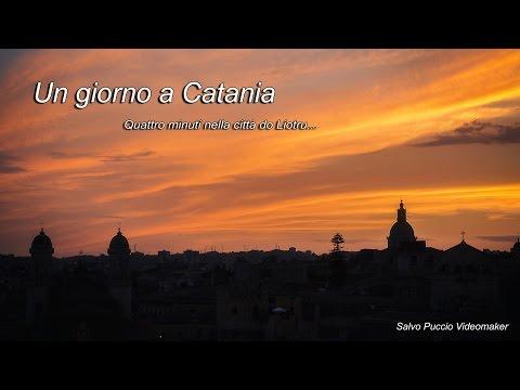 Un giorno a Catania: quattro minuti nella città do Liotru...