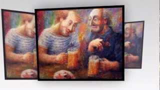 живопись маслом картины Roland Dumbadze (1-35)(, 2012-08-12T14:02:24.000Z)