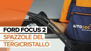 Come cambiare Spazzola tergi FORD FUSION Saloon CD3 - video tutorial