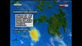 NTVL: Weather update as of 4:19 p.m. (March 18, 2018)