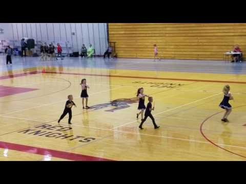 Hair Up, Cathedral Elementary School Halftime Twirl Team, 1st Place - 2017 WI State Champion
