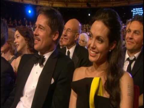 Brad Pitt & Angelina Jolie - BAFTA Awards 2009 (Sir Brad and all the Pitt Family)
