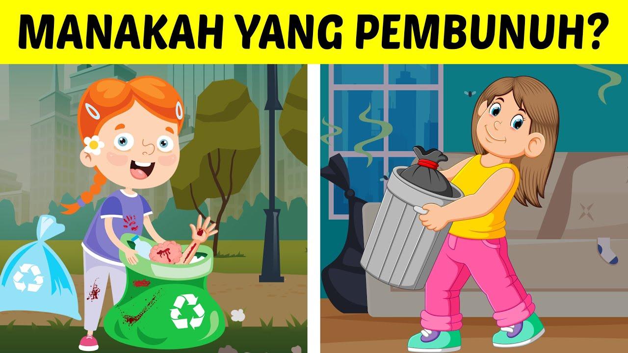 PALING SUSAH SE-INDONESIA! ORANG BIASA GAK BISA JAWAB TEKA-TEKI LOGIKA INI