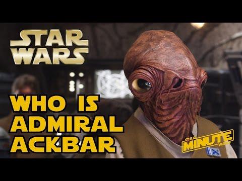 Admiral Ackbar (Canon) - Star Wars Minute