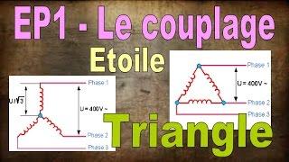 EP1 - le couplage étoile triangle. BAC PRO ELEEC, MEI et TFCA