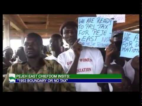 PEJEH EAST CHIEFDOM DEMONSTRATES FOR INDEPENDENCE AUG 2017