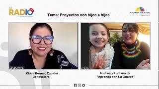 Vídeo entrevista a Andrea y Lucia de Aprende con Lu Guerra