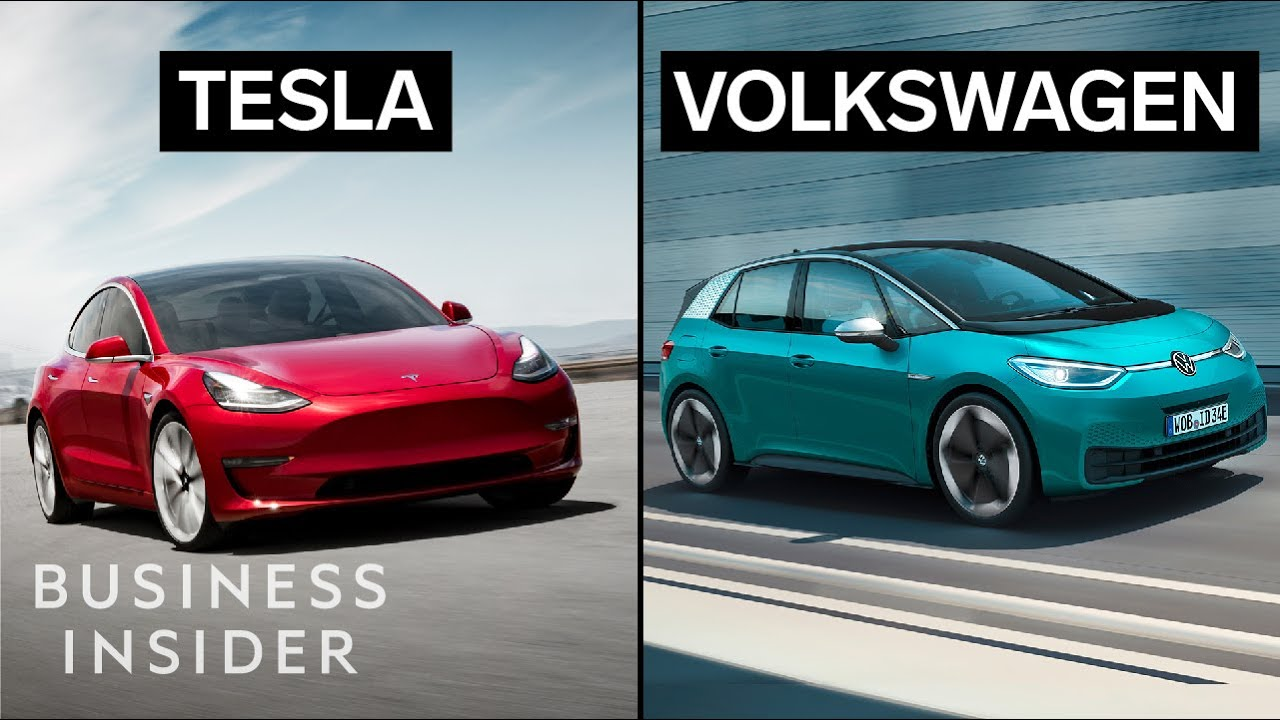 How Tesla's Model 3 Compares To Volkswagen's New EV