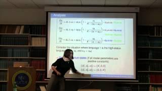 Analyzing Language Shift: the Example of Scottish Gaelic