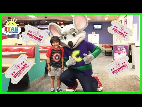 Thumbnail: CHUCK E CHEESE Family Fun Indoor Activities for Kids with Children Play Area and Games
