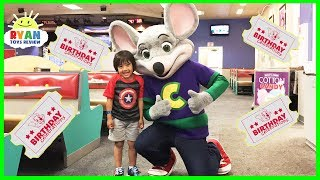 CHUCK E CHEESE Family Fun Indoor Activities for Kids