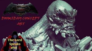 The Lord Speaks #98: Batman v Superman Doomsday Concept Art