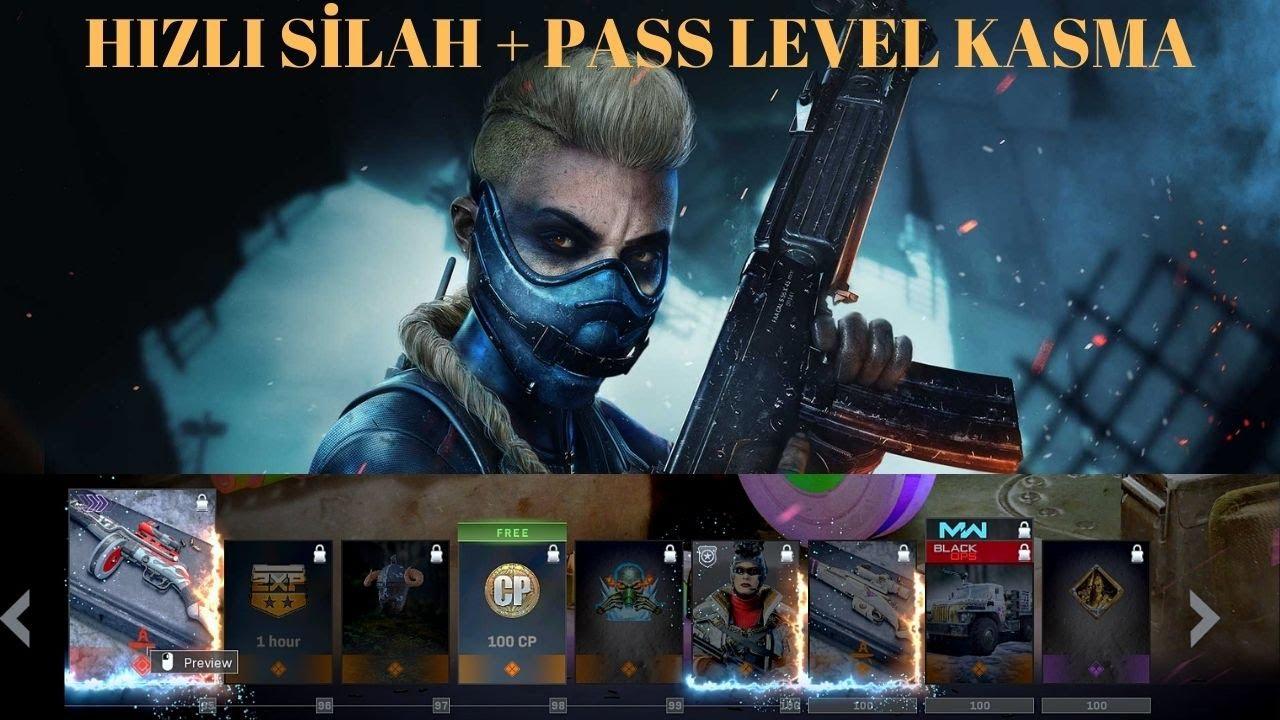 Warzone Hızlı Pass + Silah Kasma Taktiği